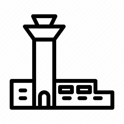 Airplane, airport, flight, plane, travel icon - Download on Iconfinder