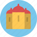 building, castle, palace icon