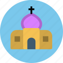 building, chapel, church, palace, religious, temple icon