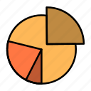 business, chart, diagram, finance, graph, pie, statistics icon