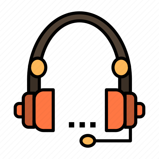 call, communication, contact, headset, help, service, support icon