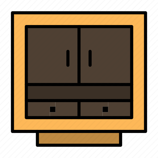 business, cabinet, drawer, files, furniture, office, storage icon