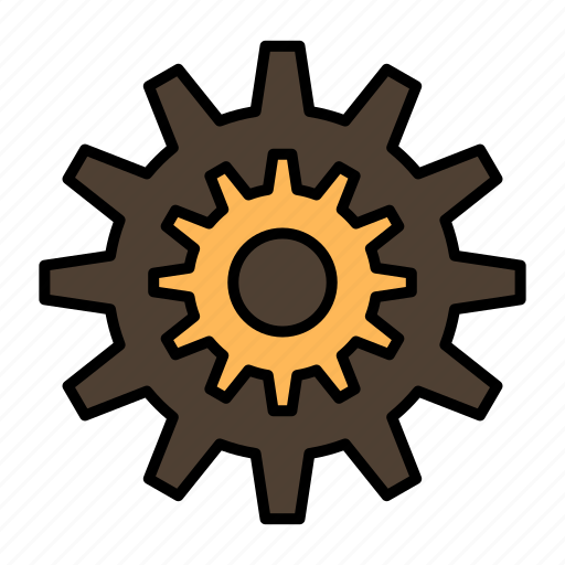 cog, gear, production, settings, system, wheel, work icon