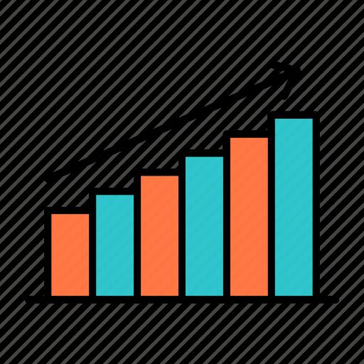 analysis, analytics, business, chart, graph, market, statistics icon