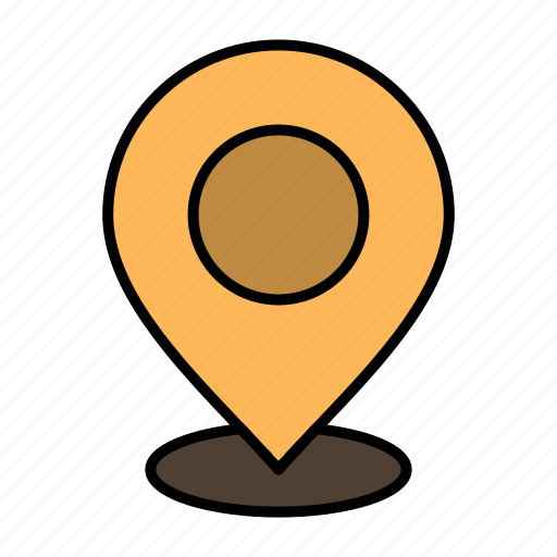 location, map, mark, marker, pin, place, point, pointer icon
