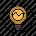bulb, concept, generation, idea, innovation, light, lightbulb icon