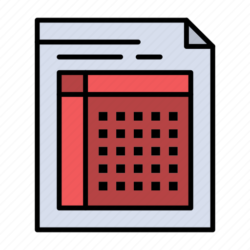 audit, bill, document, file, form, invoice, paper, sheet icon