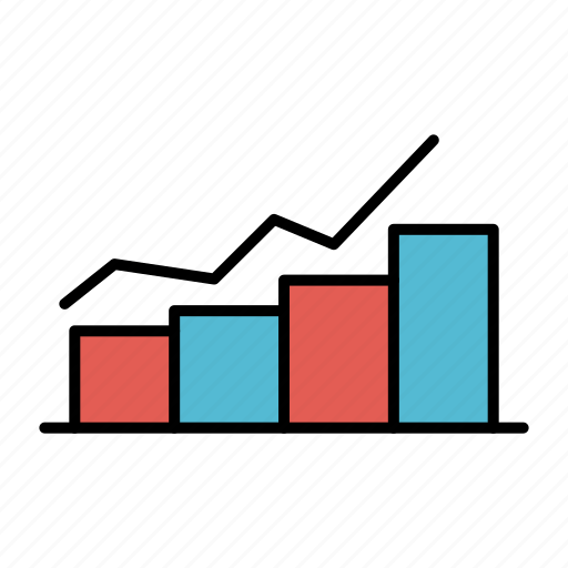 Chart, flowchart, graph, growth, increase, progress icon - Download on Iconfinder