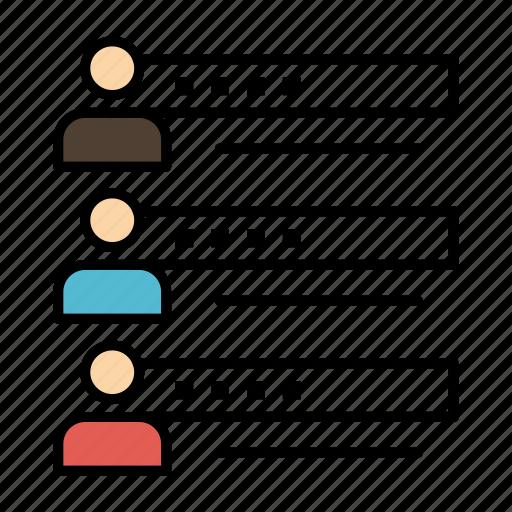 graphs, people, profile, settings, skills, statistics, team icon