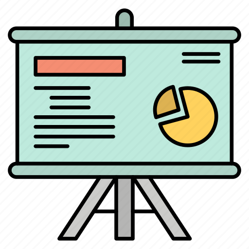 Board, graph, presentation, projector icon - Download on Iconfinder