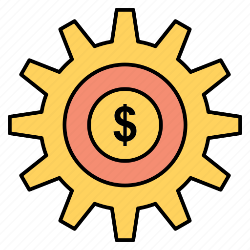 Gear, money, setting, success icon - Download on Iconfinder