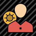 efficiency, gear, human, personal, profile, user, work
