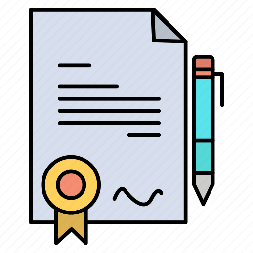 Agrement, certificate, deal, done icon - Download on Iconfinder