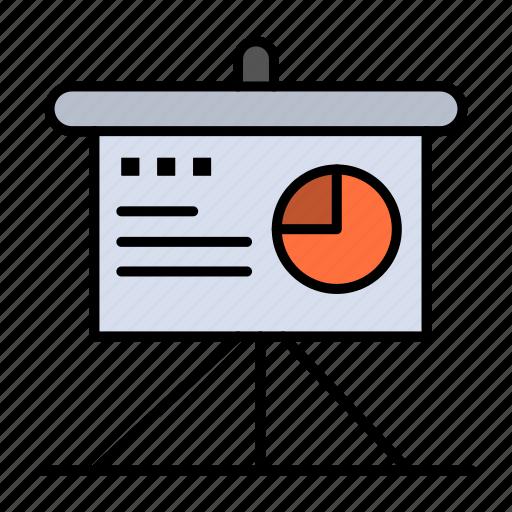 Analytics, board, business, presentation icon - Download on Iconfinder