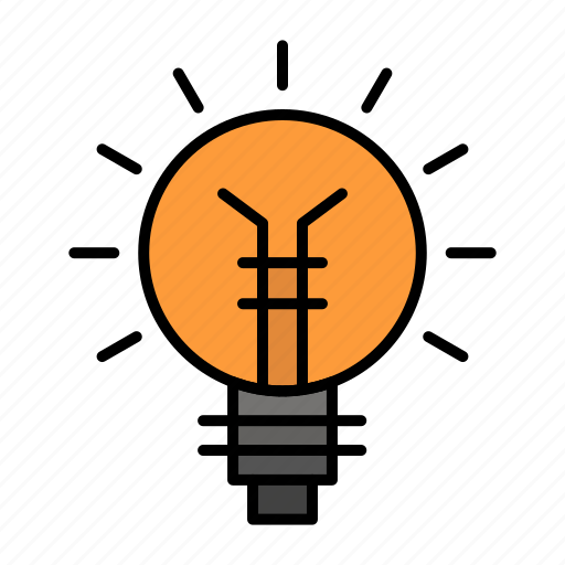 Bulb, electrical, idea, lamp, light, lightbulb icon - Download on Iconfinder