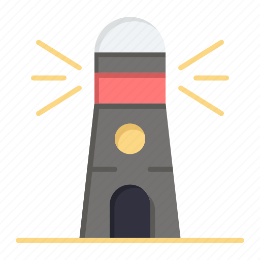building, house, lighthouse, navigation icon