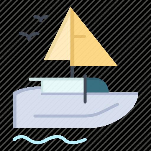 Boat, ship, transport, vessel icon - Download on Iconfinder