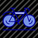 bicycle, movement, sport, walk icon