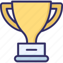 achievement, award, cup, trophy, winning award icon