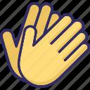 gauntlet, gloves, mitt, mitten icon