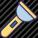 flashlight, light, pocket light, torch icon