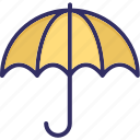 parasol, protection, rain, umbrella icon