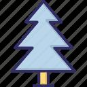 ecology, fir, fir tree, nature icon