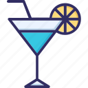 alcohol, beverage, cocktail, lemonade icon