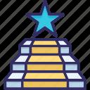 board, leader, pod, podium, position icon
