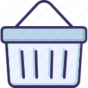 basket, cart, grocery, shopping icon