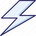 bolt, electricity, flash, power icon