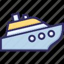 boat, cruise, sailing, ship icon