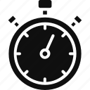 chronometer, clock, stopwatch, time icon
