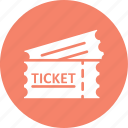 coupon, pass, ticket, token icon