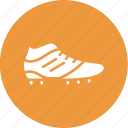 athletics, shoe, soccer, sportsman icon