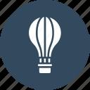air, air balloon, balloon, enjoy icon