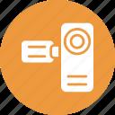 cam, camcorder, camera, filming icon