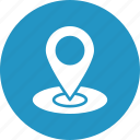 gps, location, marker, pin icon
