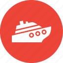boat, cruise, sailing, ship icon