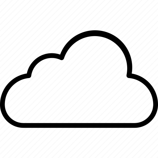 cloud, cloudy, computing, weather icon