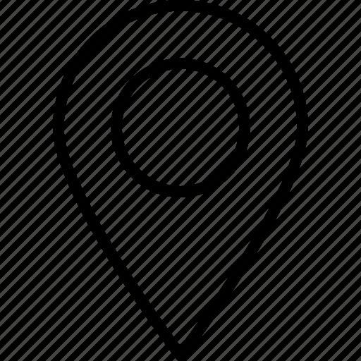 location, marker, navigation, pin icon
