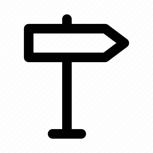 direction, journey, sign, tour, tourism, travel, voyage icon