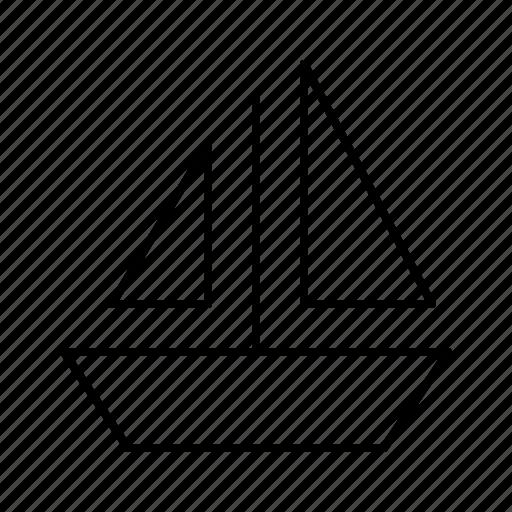 journey, sailing, ship, tour, tourism, travel, voyage icon