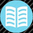 book, book mark, open, open book, reading