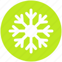 flake, ice, precipitation, snow, snowflake, winter icon