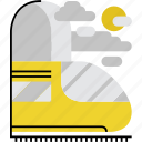 journey, railroad, train, transport, transportation, travel, trip icon