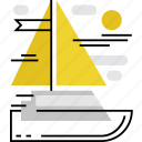 cruise, sail, sailing, ship, travel, yacht, yachting icon