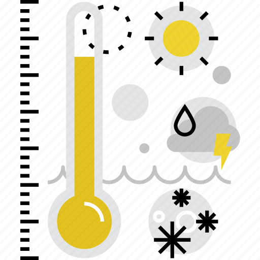 atmospheric, climat, forecast, monitoring, report, temperature, weather icon