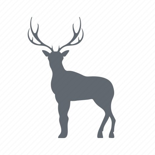 animal, deer, horn, nature icon