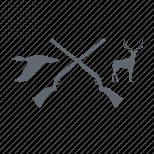 gun, hunting, shotgun, sport icon